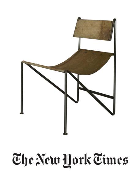 N.Y. Times, Zinc sling chair