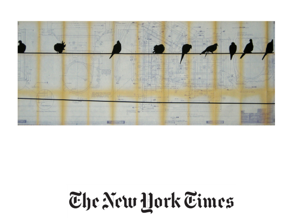 N.Y. Times, Birds on wire