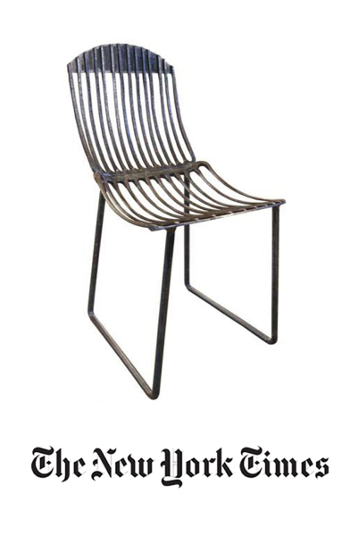 N.Y. Times, Pitch fork chair