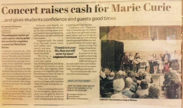 Fund raising Concert