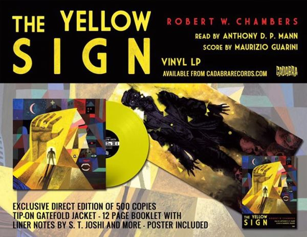 The Yellow Sign - New LP, feat. Anthony and Maurizio Guarini!