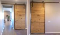 Natural Modern Barn Door