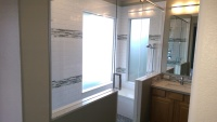 Tile Installation and Bathroom Redesign