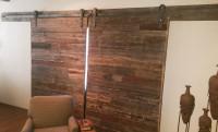 Double Wooden Barn Doors