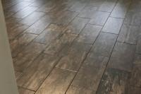 Wood Tile Floor Install