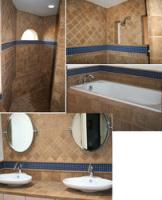 Clean Bathroom Remodel