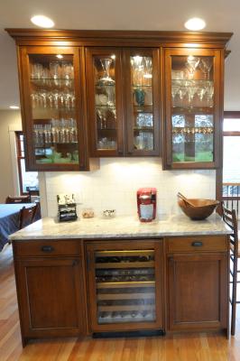 Liquor Cabinet / Wine Refridgerator