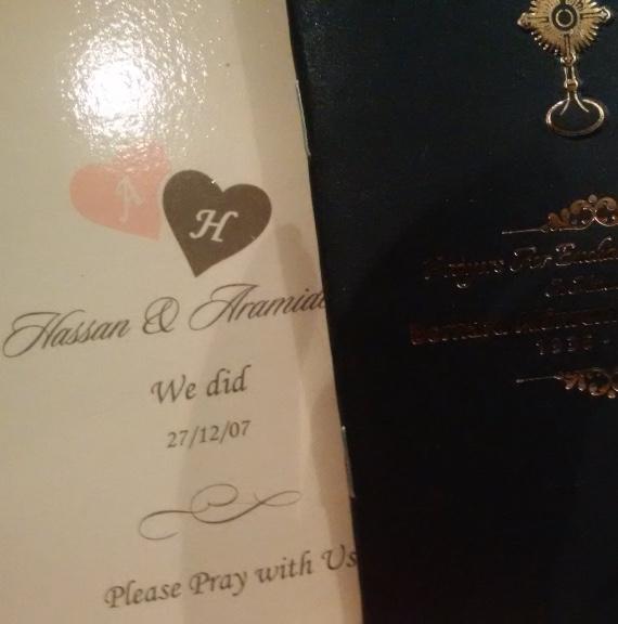 Customised Prayer books
