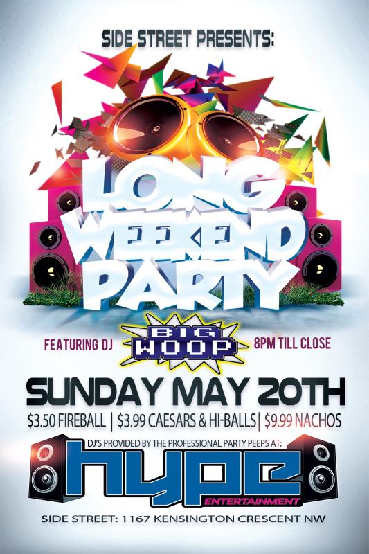 Sunday, May 20th