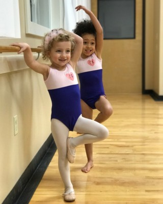 Toddler ballet classes in French or English
