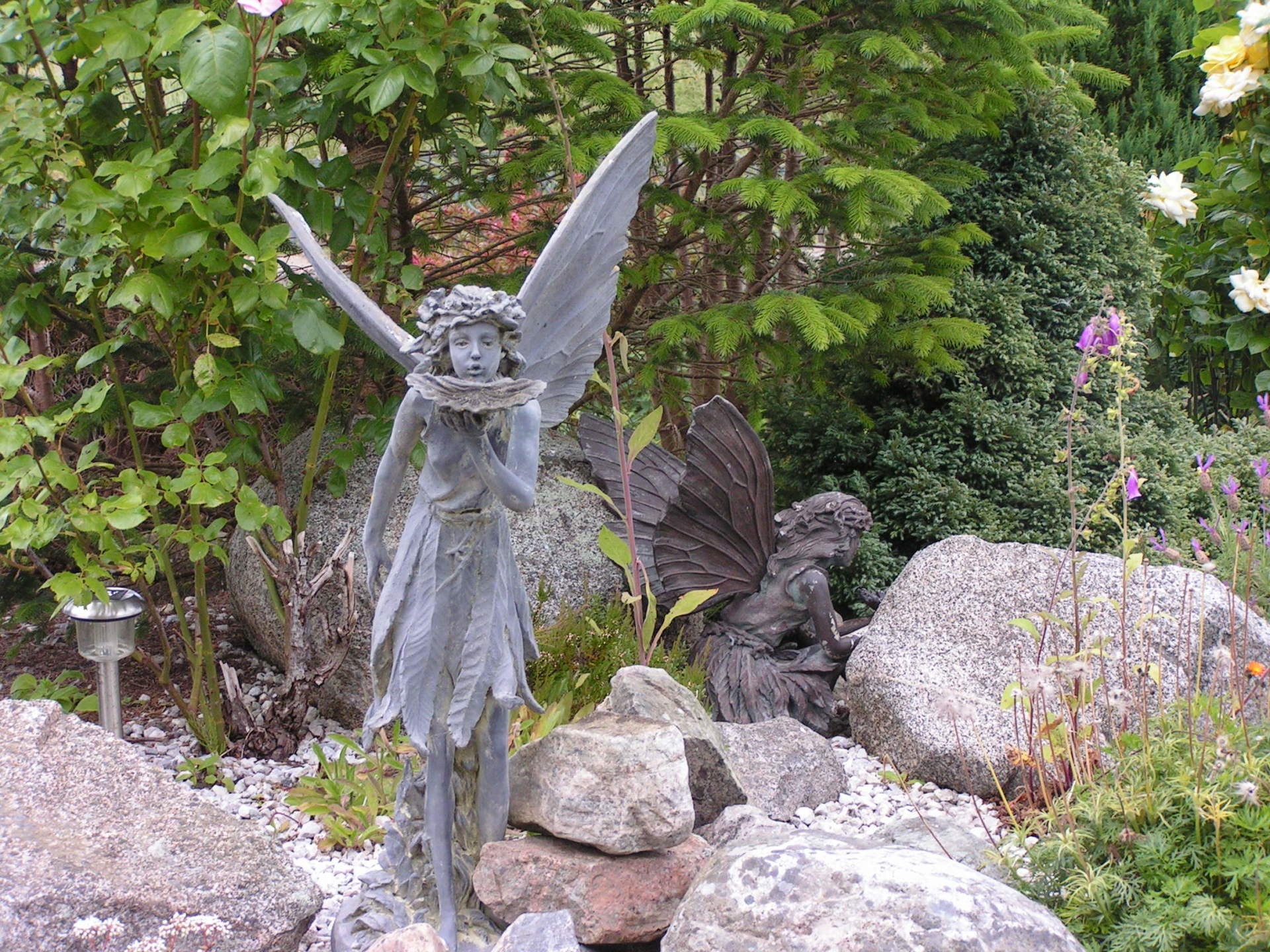 Fairies at Highland House garden