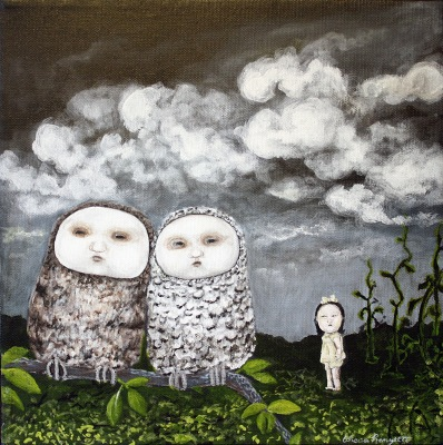 Two Owls and a Skeptic