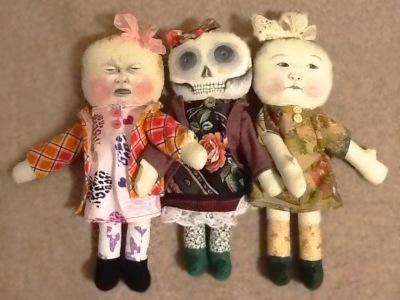 Painted Rag dolls