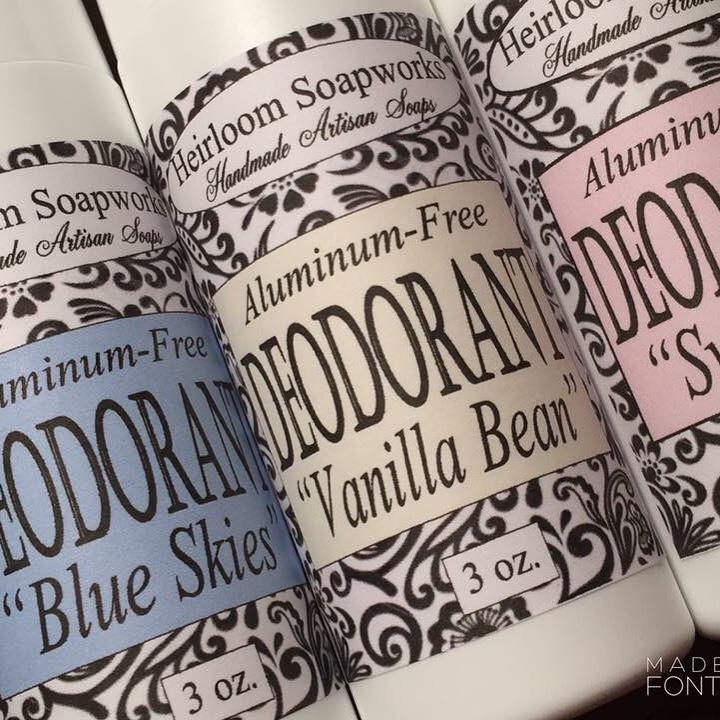 Aluminum-free Deodorants