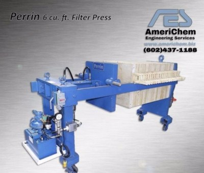 Filter Press,Refurbished Filter Press, Rebuilt Filter Press, Air/Hydraulic Filter Press, Small Filter Press, Large Filter Press, JWI, Sperry, Perrin, Durrco, Pac Press, Plate and Frame, Cloth, Used Filter Plates, Filter Plates