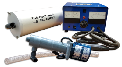 The Gold Bug Electrolytic Recovery System, Gold Bug, Metal Recovery