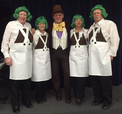 Chocolate Factory Staff