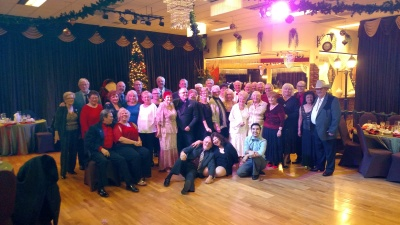 Swinging Stars 2016 Christmas Party