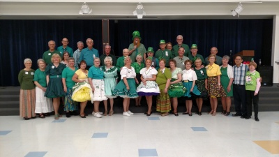 St Patrick's Dance at the Swinging Stars - March 2017