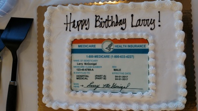 Larry McGonical's Birthday Cake