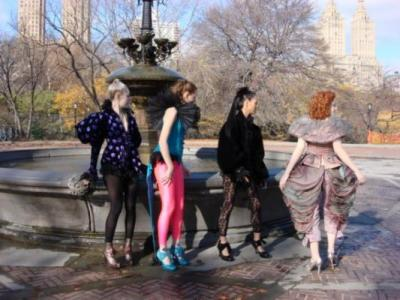 Dreams PILOT on set in Lady Gaga designer clothes