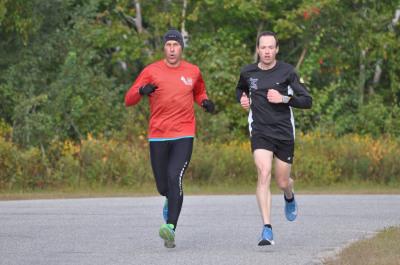 Arseneau, Barrieau win Fall 5 Miler