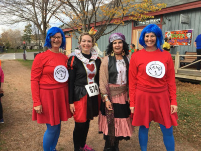 Halloween Hustle focused on family participation