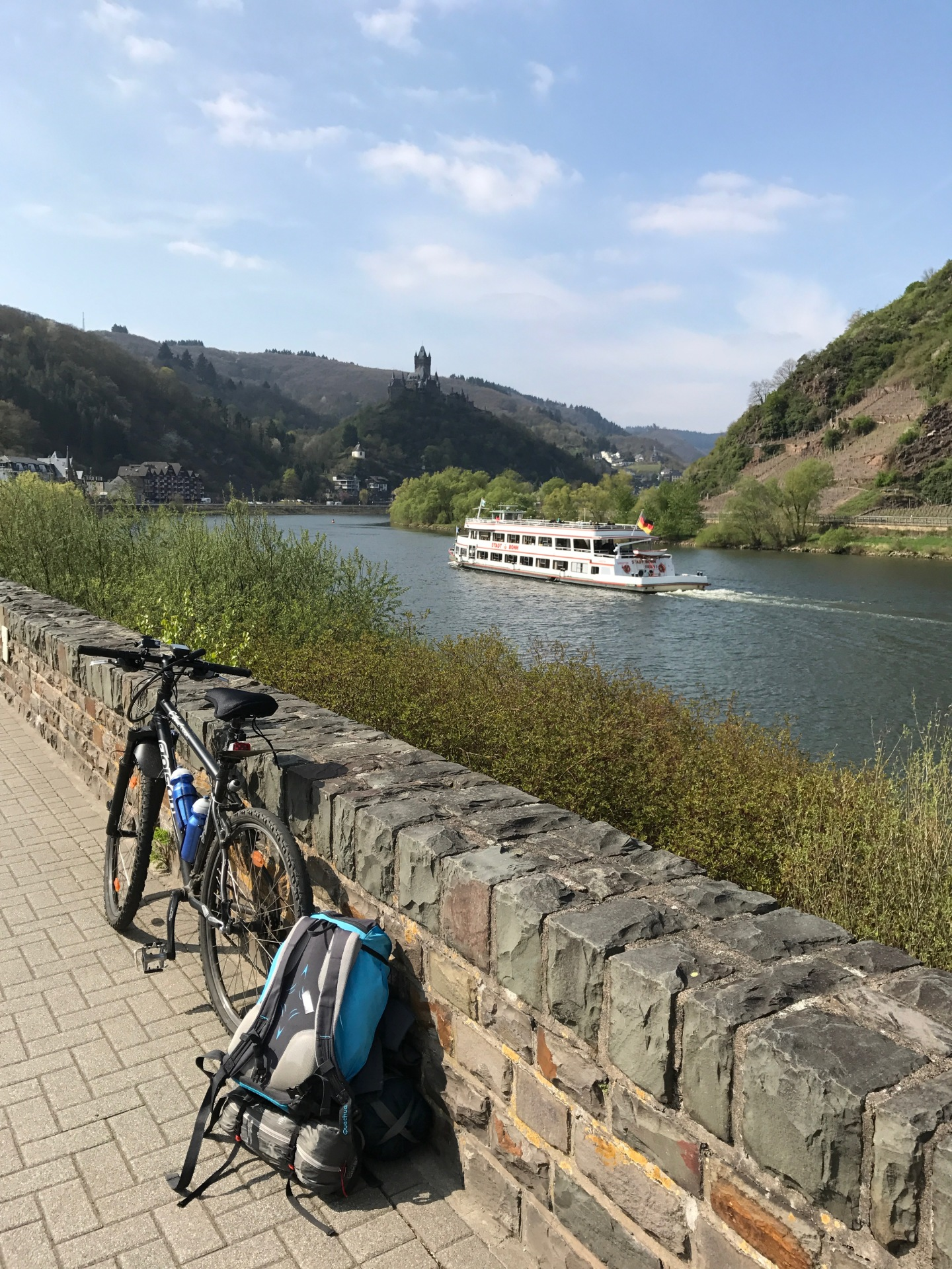 The Moselle by bike, part 1