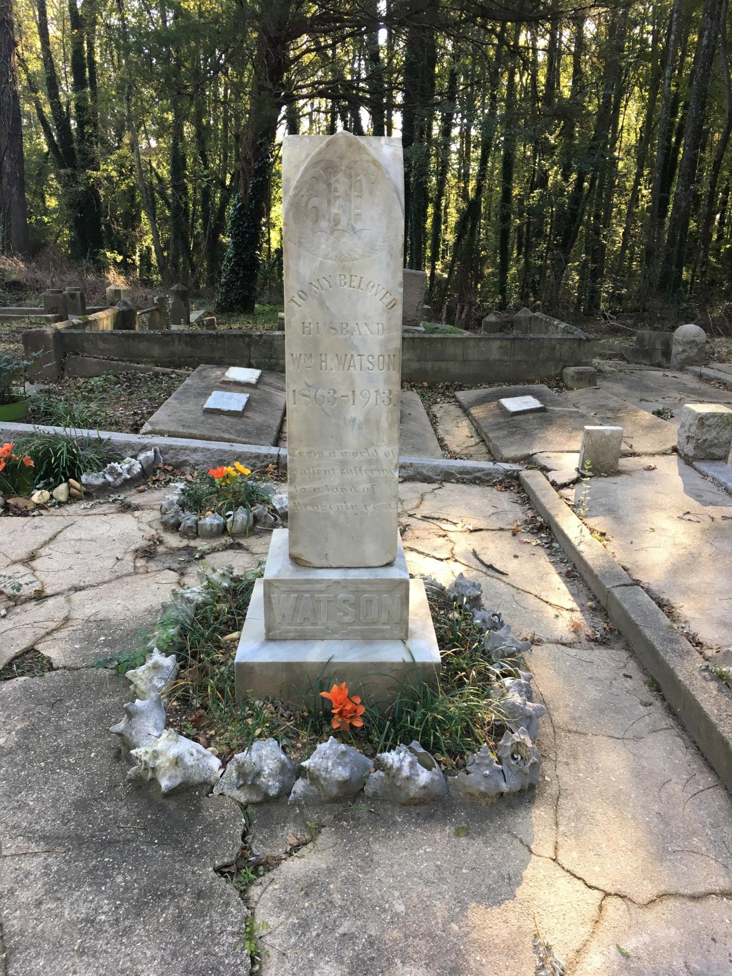 Gravestone of William H. Watson