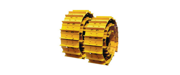 Metal tractions for all excavators