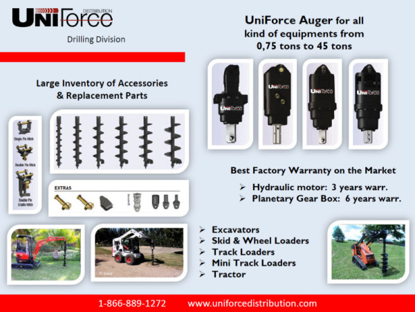 Auger drives & accessories for all makes and sizes of machines