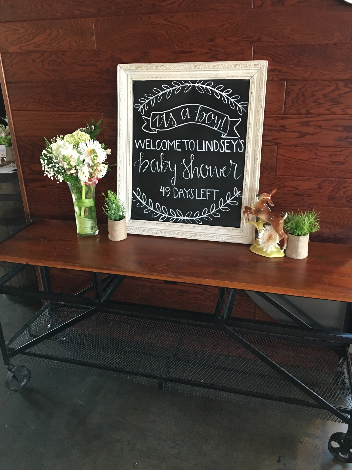 Chalkboard Signs and Entry Ways