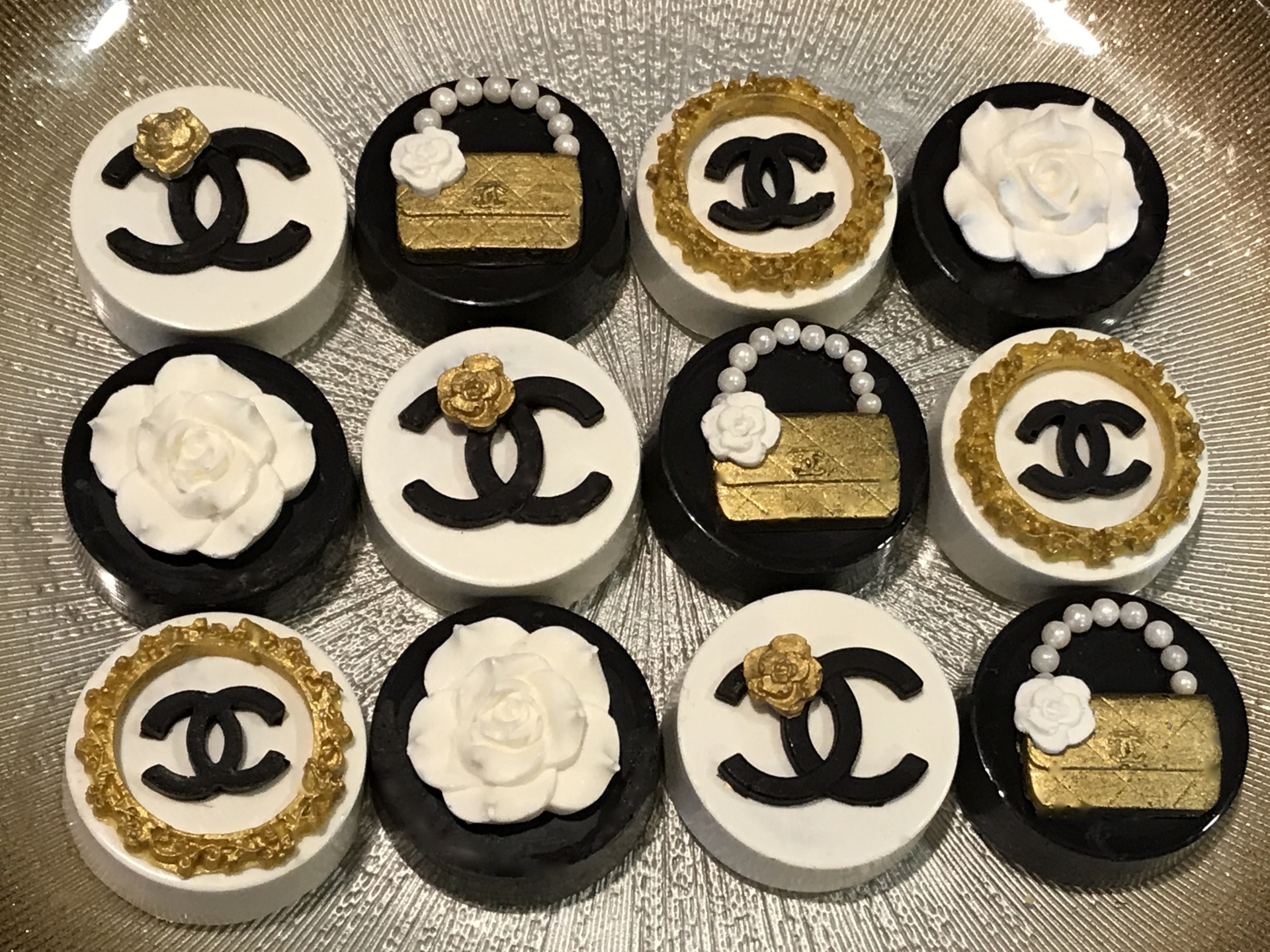 Chanel Chocolate Covered Oreos