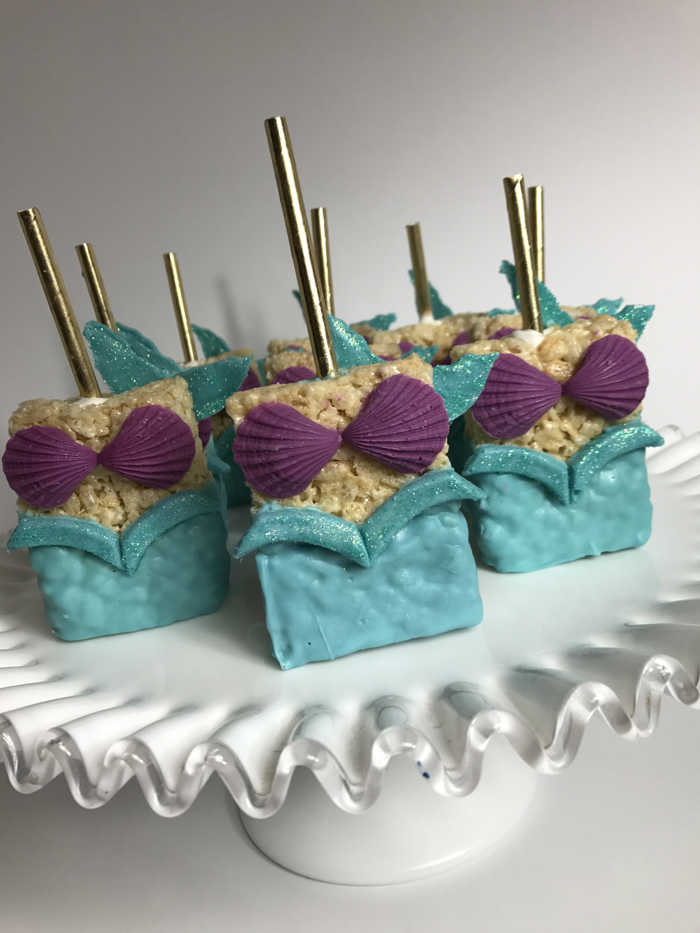 Under the Sea Rice Crispy Treats