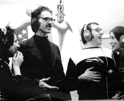 photograph of the responsive scene radio show commedia dell'arte with david shepherd