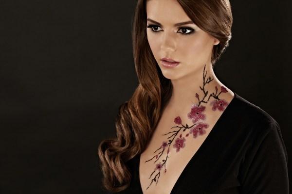 HD Glitter Tattoo
