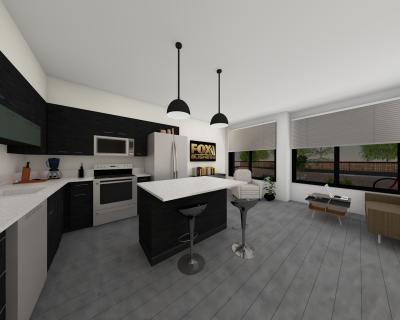 The 27 ELM Kitchen/Living Concept
