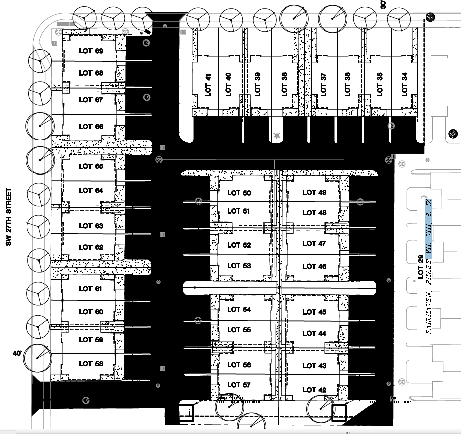 The 27 ELM Site Plan
