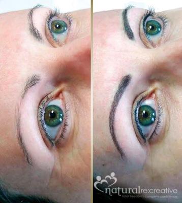 Eyebrows and Eye Liner
