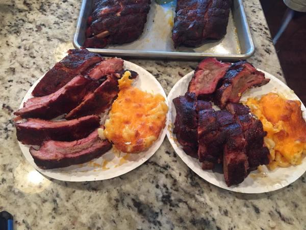 Sample rib plate