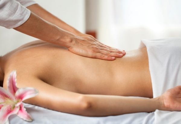 rub out low back pain with massage
