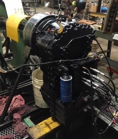 CASE 621C,  rebuilt transmission, torque convertor, 4WG160, spec: 4656054019