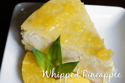 Whipped Pineapple