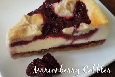 Marionberry Cobbler