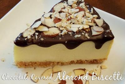 Chocolate Covered Almond Biscotti