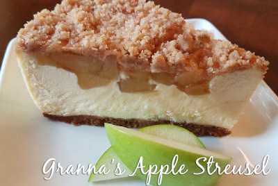 Granna's Apple Streusel