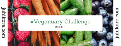 Week One of the #Veganuary Challenge