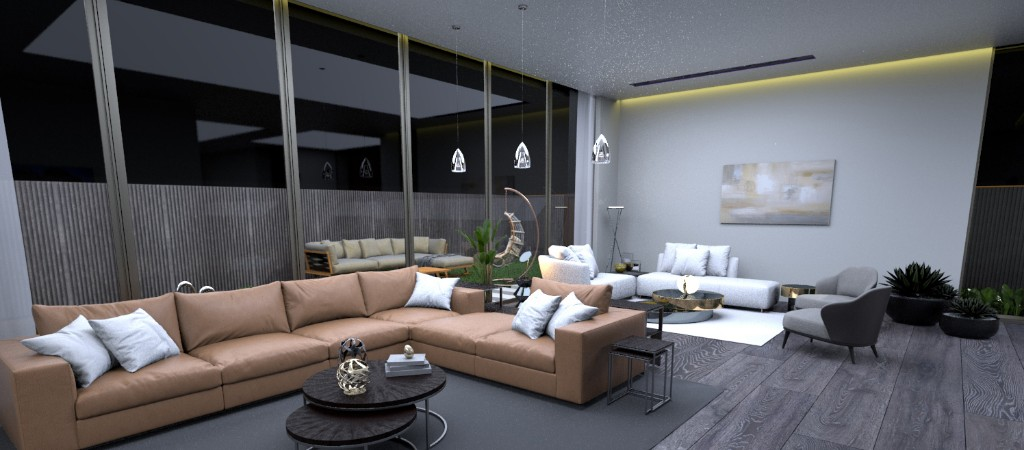 RECEPTION AREA AND LIVING AREA (2)