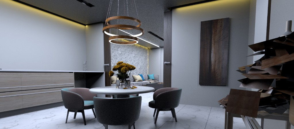 KITCHEN AND DINING AREA (1)