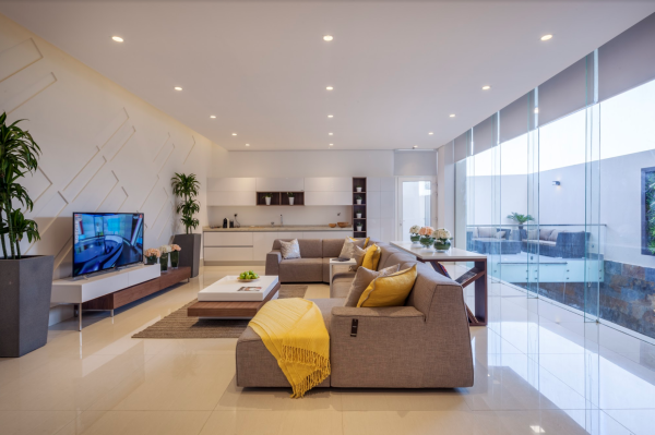 A living room is where the family gathers. The choice of furniture is of prime importance because it defines the living room itself. If it is decorated carefully, it doesn't only give pleasure but also makes the place look accommodating and highly comfortable.